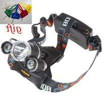 qich new 3x CREE XM-L XML T6 LED 5000Lm Rechargeable