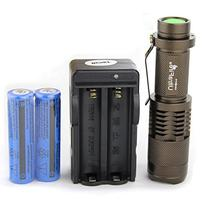 UltraFire® CREE XML T6 LED ZOOMABLE Flashlight Torch Lamp