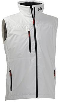 Helly Hansen Men's Crew Vest, Ebony, Large