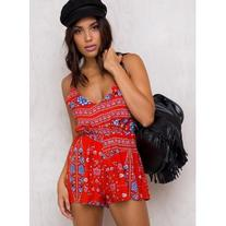 Crimson Skies Playsuit