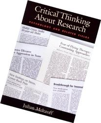 Critical Thinking About Research: Psychology and Related