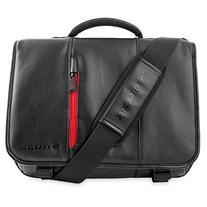 Snugg Crossbody Shoulder Leather Bag for 17-Inch Laptop,