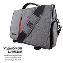 Snugg 15.6-Inch Laptop Bag, Grey