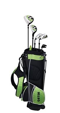 Nitro Nitro Crossfire Junior 8 Piece Golf Set, Right Hand,