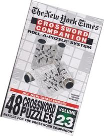 Crosssword Companion Roll-a-puzzle System, Refillsfor the