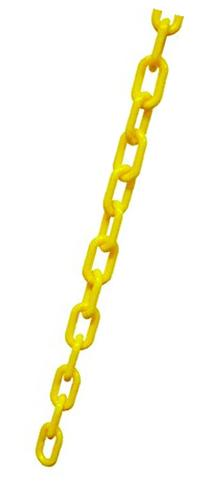 Apex Crowd Control 1.5 In. Dia. Plastic Chain - 50 Ft.