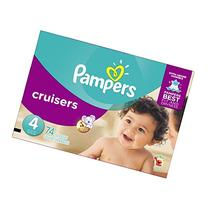 Pampers Cruisers Diapers, Size 4, 74 count