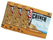 Clif Crunch Granola Bars - Peanut Butter - 1.5 oz - 5 ct - 3 Pack
