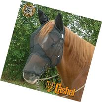 CASHEL CRUSADER QUIET RIDE FLY MASK - LONG NOSE WITH EARS -