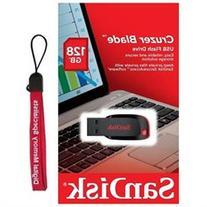 SanDisk 128GB Cruzer 128G Blade SDCZ50 USB 2.0 SDCZ50-128G