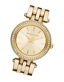 Women's Michael Kors Petite Darci Crystal Bezel Bracelet