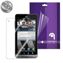 Fosmon Crystal Clear Screen Protector Shield for Motorola
