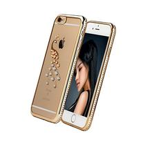 Crystal Clear Soft TPU Rubber Bumper with Bling Diamond