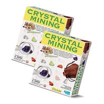 4M Crystal Mining Kit, Twin Pack