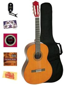 Yamaha CS40 7/8-Scale Classical Guitar Bundle with Gig Bag,
