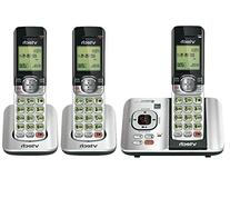 VTech CS6529-3 3-Handset Expandable Cordless Phone with