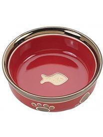 Ethical Pet Products  CSO6886 Ritz Copper Rim Cat Dish, 5-