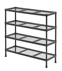 Sandusky CSR311031 Gray Combination Wire Shelving Unit, 4