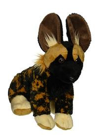 Wild Republic African Wild Dog Plush, Stuffed Animal, Plush Toy, Gifts for Kids, Cuddlekins 12 Inches
