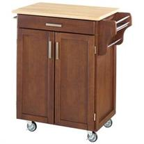 Home Styles Cuisine Cart - 32.5 x 18.8 x 35.5 - 1 x Shelf -