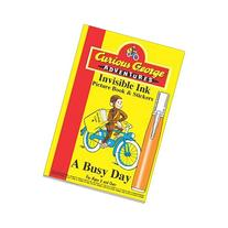 Curious George Adventures -A Busy Day Invisible Ink
