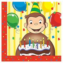 Curious George Napkins  - Party Supplies