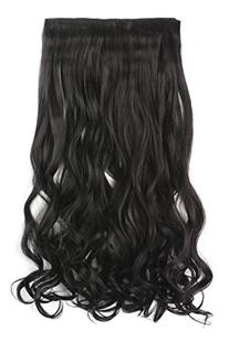 "OneDor 20"" Curly 3/4 Full Head Synthetic Hair Extensions"
