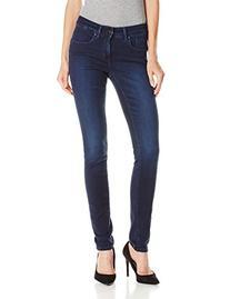 Calvin Klein Jeans Women's Curvy Skinny, Deep Ocean, 29x30