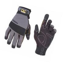 Custom Leathercraft Gray and Black Medium Handyman Gloves
