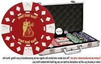 Custom Poker chip Set: Wedding  image & your custom text
