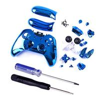 HDE Xbox One Controller Blue Chrome Shell Case Wireless