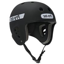 PROTEC Original Full Cut Helmet, Satin Black, Small