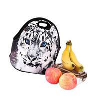 iColor Cute Cheetah Insulated Lunch Tote Bag Cooler Box