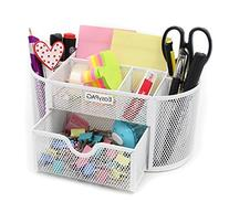 EasyPAG Cute Desk Accessories Mesh Caddy Organizer 9
