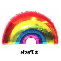 Pawliss Cute Rainbow Foil Mylar Balloon Party Decoration 35
