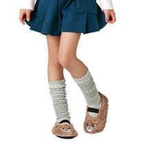 Deer Mum Girl's Multicolor Over Knee Lace Socks