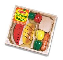 Cutting Food Box Wooden Pretend Play Toy