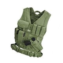 Condor CV-001 GREEN Military Cross Draw Tactical Chest Rig
