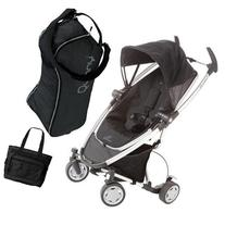Quinny CV262RKB Zapp Xtra with diaper bag and Travel Bag-