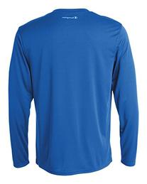 Champion CW26 Adult Double Dry Long-Sleeve Interlock T-Shirt