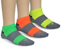 Fitsok Men's CX3 Neopop Socks , Grey/Tri-Color , Small