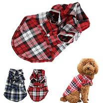 CXB1983Cute Pet Dog Puppy Clothes Shirt Size XS/S/M/L Blue