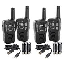 NEW!  COBRA CXT145 MicroTalk 16 Mile 22 Channel Walkie Talkie 2 Way Radios