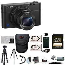 Sony Cyber-shot DSC-RX100 IV Digital Camera with Attachment