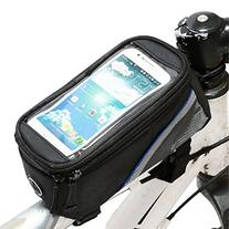 Weanas Cycling Bike Bicycle Handlebar Frame Pannier Front