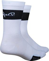 DeFeet International Cyclismo 5-Inch Trico Sock, Black/White