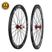 ICAN 50mm Cyclocross Bike Carbon Wheelset Clincher Disc