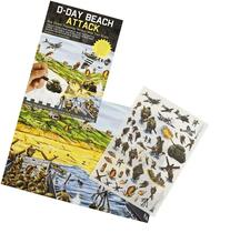 D-Day Beach Attack - Rub Down Transfers World War 2 Battle