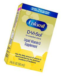 Enfamil D-Vi-Sol Vitamin D Supplement Drops, 50mL