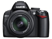 Nikon D3000 10.2 Megapixel Digital SLR Camera  - 18 mm-55 mm